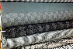 Abbigliamento lana cotta geometrica