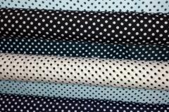 Abbigliamento raso cotone pois