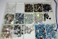 Merceria bottoni diamante