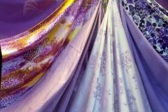 Abbigliamento raso tela fantasia