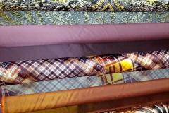 Abbigliamento taffetas e rasi fantasia